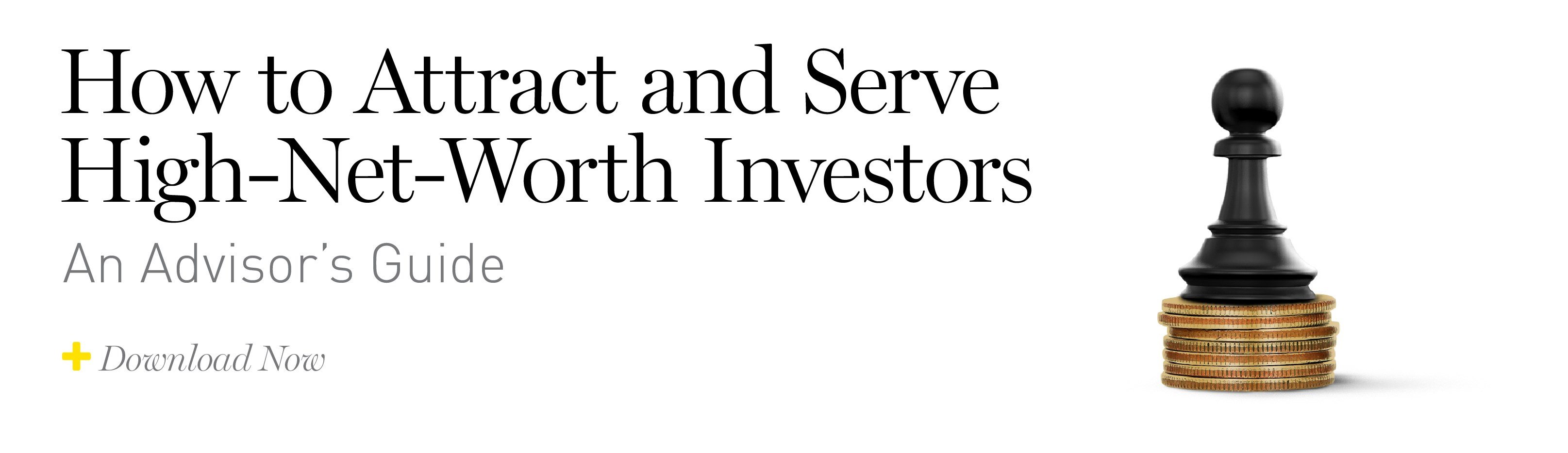 Click to download How to Attract and Serve High Net Worth Investors - An Advisor's Guide.