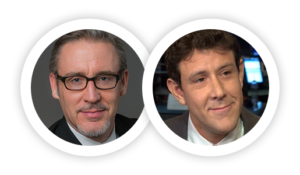 Webinar hosts, Rusty Vanneman and Jeff Spiegel.